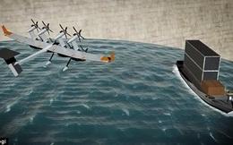 """Bằng sáng chế quá khác người của Google: trung tâm dữ liệu nằm trên tàu lênh đênh giữa biển, hoạt động bằng """"cối xay gió bay"""""""