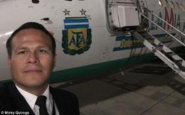 """Lời cuối của máy bay chở tuyển Brazil gặp nạn: """"Hết xăng"""""""