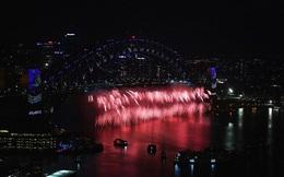 """[VIDEO - ẢNH] Tưởng nhớ Prince, Australia có màn pháo hoa như """"mưa tím"""" tuôn rơi"""