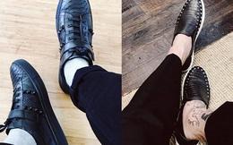 Bộ sưu tập giày trị giá 200 triệu của chàng du học sinh
