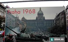Lính dù Liên Xô cực nhanh và ngoạn mục tràn ngập Tiệp Khắc