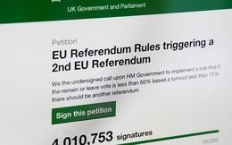 """Brexit: """"Sẽ không có cuộc trưng cầu dân ý thứ hai"""""""