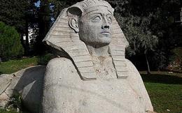 Bí ẩn chưa thể giải mã ở bức tượng Nhân sư lớn nhất châu Âu