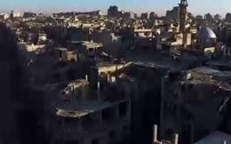Thành phố Homs đổ nát như ngày tận thế