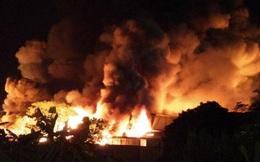 Sau tiếng nổ lớn như bom là cảnh tượng cháy khủng khiếp ở Hải Phòng