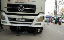 Xe tải chở xi măng tông chết hai mẹ con