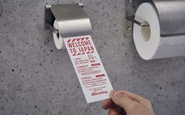 Nhật Bản: giấy vệ sinh đặc biệt dành riêng cho điện thoại