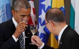 Tâm sự của 2 người sắp thất nghiệp Obama và Ban Ki-moon