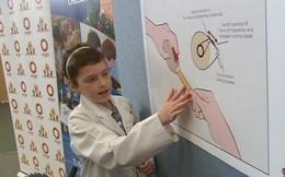 Cô bé 10 tuổi từng mắc ung thư sáng tạo ra băng gạc vết thương cực thông minh, được thưởng chuyến thăm NASA