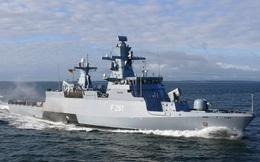 Tàu hộ tống Hải quân Đức dùng để kiềm chế Nga tại Baltic mạnh đến mức nào?