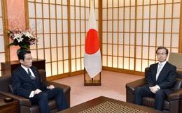 Ngoại trưởng Nhật triệu đại sứ Trung Quốc yêu cầu rút tàu