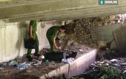 Nghi vấn xác thai nhi phân hủy trong quan tài nhỏ dưới chân cầu Băng Ky