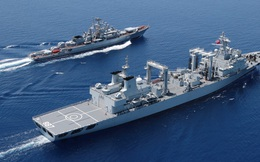 """TQ rầm rộ thông báo tập trận chung trên biển Đông, sao Nga lại """"ngại ngần""""?"""