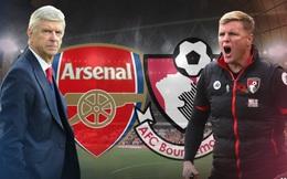 Box TV: Xem TRỰC TIẾP Arsenal vs Bournemouth (21h15)