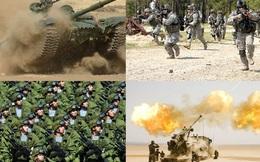 2 quốc gia châu Á có lực lượng lục quân đứng trong top 5 thế giới
