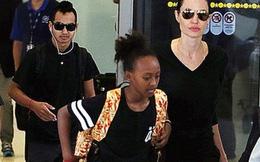 Các con của Angelina Jolie van xin mẹ quay lại với Brad Pitt