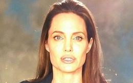 Angelina Jolie hốc hác xuất hiện sau ly hôn