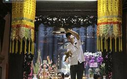 Khẩn trương trang trí chùa Ngọc Hoàng chuẩn bị tiếp đón TT Obama