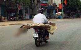 """Chở thi thể bằng xe máy: """"Có đúng 400 nghìn đồng nên chỉ thuê xe ôm cho nhanh về đến nhà"""""""