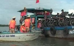 Đình chỉ 5 bến đò hoạt động không phép tại Quảng Nam
