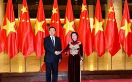 Chủ tịch Quốc hội Trung Quốc thăm, dự khán phiên họp Quốc hội