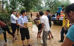 """Ông Võ Kim Cự nói về thông tin """"tranh công làm từ thiện"""" sau lũ"""