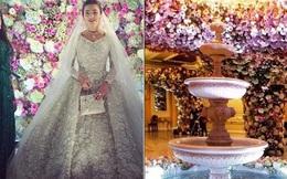 Nghẹt thở trước độ xa hoa trong đám cưới hơn 22.000 tỷ của Lọ Lem phiên bản đời thực