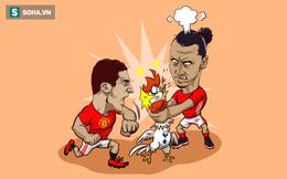 Ảnh chế: Khi Man United thịnh nộ thì Tottenham cũng chỉ là... con gà