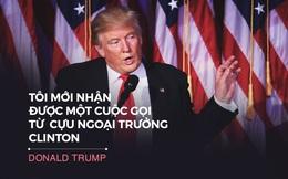 """Toàn văn phát biểu chiến thắng của Trump: """"Chiến trường chính trị thật đáng sợ"""""""