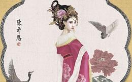 Hé lộ tạo hình của Trần Kiều Ân trong vai Hoàng hậu tàn bạo nhất lịch sử
