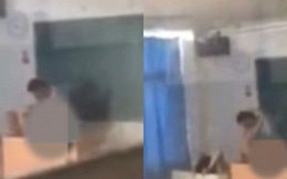 Giảng viên đại học bị quay clip sex với nữ sinh trong lớp học giữa ban ngày
