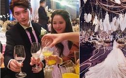 """""""Đám cưới ngôn tình"""" của hot girl đẹp nhất Trung Quốc khiến nhiều người choáng ngợp"""