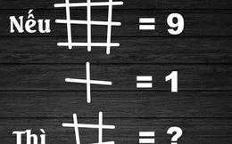 Chỉ 10% số người được hỏi trả lời đúng cả hai đáp án của câu đố này! Bạn thuộc nhóm nào?