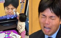 Câu chuyện bi hài phía sau bức ảnh cô bé Nhật lau nước mắt cho chính trị gia bật khóc trên truyền hình