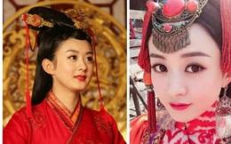 Những lần mặc váy cưới đẹp tựa nữ thần của Triệu Lệ Dĩnh