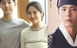 """Song Joong Ki, Song Hye Kyo lại """"gây bão"""" khi chung tay tặng quà đàn em"""