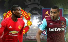 Box TV: Xem TRỰC TIẾP Man United vs West Ham (23h30)