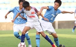U.13 bóng đá học đường thua đội bóng trẻ của J.League