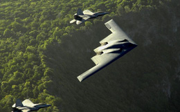 Mỹ nâng cấp vũ khí tối thượng - Máy bay ném bom tàng hình B-2 Spirit