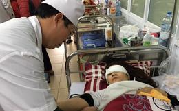 Hà Nội: Nữ cán bộ bị chém khi đang làm việc