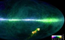 Tiết lộ hình ảnh mới về bản đồ dải Ngân Hà