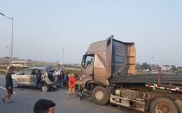 10 người thương vong trong vụ tai nạn nghiêm trọng trên cao tốc Hà Nội – Thái Nguyên