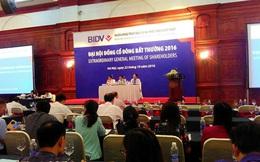 BIDV họp đại hội cổ đông, chưa có tân Chủ tịch HĐQT