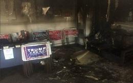 Ông Trump tố phe bà Clinton đốt văn phòng Đảng Cộng hòa