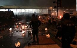 Đánh bom kép ở Thổ Nhĩ Kỳ, 15 người chết