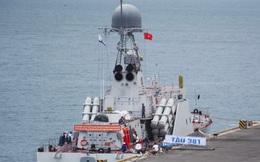 Tàu tên lửa có tính năng tàng hình đầu tiên của Việt Nam tham gia diễn tập quốc tế