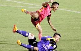 Lại thêm một pha bóng triệt hạ man rợ tại V-League