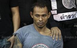 """Tài xế """"phê"""" ma túy đâm nát hơn 30 xe hơi ở Bangkok"""
