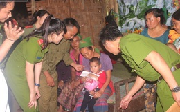 Hồi hộp giây phút giải cứu bé gái bị bắt cóc bán sang Trung Quốc