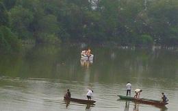 Phát hiện thi thể Trung uý công an trên sông Ngàn Trươi